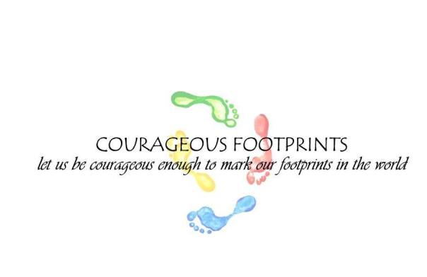 COURAGEOUS FOOTPRINTS